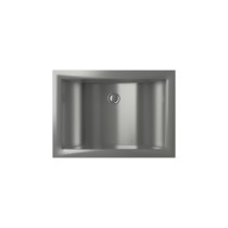 Cantrio Koncepts MS-012 Stainless Steel Undermount Sink with Brushed finish