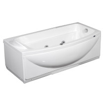 "Aston Global MT601 68"" Whirlpool Bath Tub in White - Left Or Right Hand"