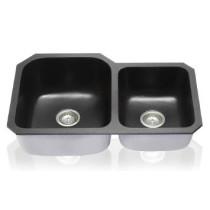 Lenova NG-03 Double Bowl Undermount Kitchen Sink Novagranite 32X19