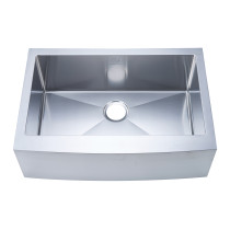 Stufurhome NW-3020S Apron/Farmhouse Stainless Steel 30 Inch Single Bowl Kitchen Sink