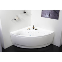 Aquatica Oliv-Wht-Rlx Acrylic Relax Air Massage Bathroom Bathtub In White