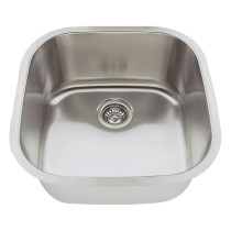Square Stainless Steel Bar Sink