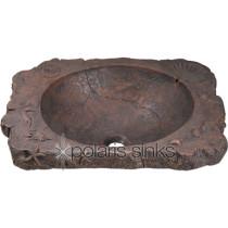 Bronze Drop-In Bathrom Sink