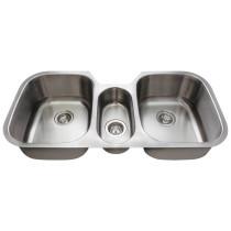 Polaris P1254 Triple Bowl Stainless Steel Sink