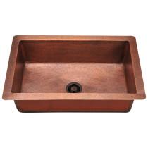 Polaris P309 Single Bowl Copper Kitchen Sink