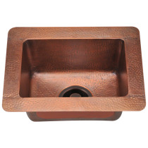 Polaris P409 Single Bowl Copper Sink