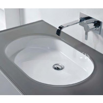 Cantrio Koncepts PS-110 Vitreous China Undermount Sink With Overflow