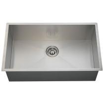 Rectangular 90 Degree Stainless Steel Sink