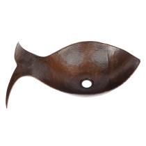 Premier Copper PVFHDB Single Bowl Fish Vessel Hammered Copper Sink