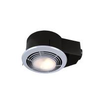 Broan QT9093WH White Round grille Heater/Fan/Light/Nightlight 1500W Heater