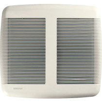 Broan QTRE110 White Grille Quiet Ceiling Bath Fan - ENERGY STAR® Qualified