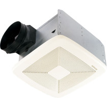 Broan QTXE050 Ceiling Mounted Energy Star Rated and HVI Certified Bath Fan