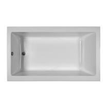Reliance R7242CRA 72 Inch Rectangular End Drain Air Bath