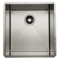Rohl RSS1718SB Single Bowl Stainless Steel Kitchen Or Prep Sink in Brushed Stainless Steel
