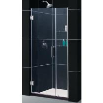 """DreamLine SHDR-20367210C Unidoor Frameless 36-37"""" Adjustable Shower Door"""