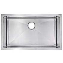 Water Creation SS-US-3219B 15 mm Corner Radius Single Bowl Kitchen Sink