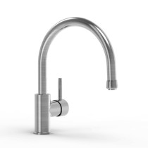Parmir SSK-711 Single Handle Kitchen Faucet in Brushed Stainless Steel
