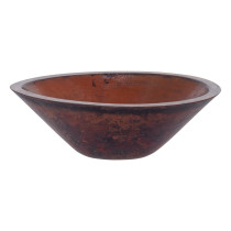 Novatto TCV-010NAORB MONTEVIDEO Vessel Sink With Oil Rubbed Bronze Drain