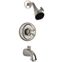 Brushed Nickel LaToscana 46..697 Pressure Balanced Tub & Shower Kit
