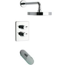 Polished Chrome LaToscana 73CR691VR Thermo Valve w/ Shower Head & Bath