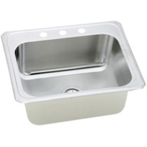 Elkay DCR252210 Single Basin Stainless Steel  Sink