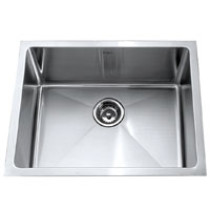 Kraus KHU-101-23 23'' Undermount Single Bowl Steel Sink