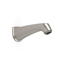 TOTO TS211E#PN Polished Nickel Keane Brass Construction Wall Mounted Bathroom Tub Spout