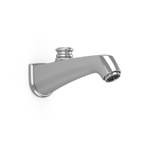 TOTO TS211EV#CP Polished Chrome Keane Brass Wall Mounted Bathroom Tub Spout With Diverter