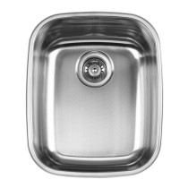 Ukinox UN376 Single Bowl Stainless Steel Sink, Can be Drop-in or Undermount