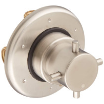 LaToscana USPW425 Brushed Nickel Single Hole 3 Ways Diverter Valve