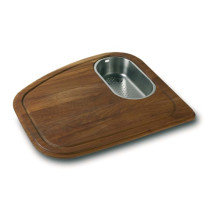 Franke VN-45SP Vision Solid Wood Cutting Board with Integral Colander