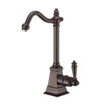 Whitehaus WHFH-C2011-ORB Oil Rubbed Bronze Point of Use Cold Water Faucet with Traditional Spout