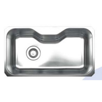 Whitehaus WHNUA3016 Stainless Steel  30'' Single Undermount Kitchen Sink