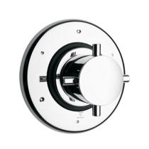 Whitehaus WHUS425 4 1/2″ Luxe Three Ways Diverter Valve with Cross Handle