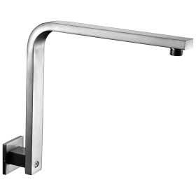 ALFI brand AB12GSW 12 Inch Square Raised Wall Mounted Shower Arm