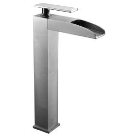ALFI brand AB1597 Single Hole Tall Waterfall Bathroom Faucet