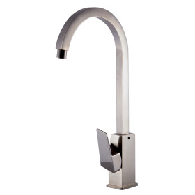 ALFI brand AB3470 Gooseneck Single Hole Bathroom Faucet