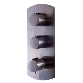 ALFI brand AB3901 Round 2 Way Thermostatic Shower Mixer