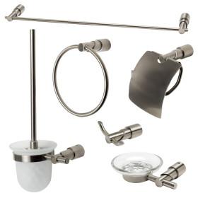 ALFI brand AB9508 6 Piece Matching Bathroom Accessory Set