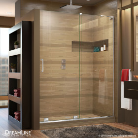 DreamLine SHDR-1960723R Mirage-X H Sliding Shower Door With Right-wall Bracket