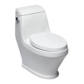 EAGO TB133 Single Flush One Piece Ceramic Toilet
