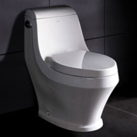 Ariel TB133M Curvy One Piece Elongated Eco Friendly Toilet