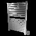 Amba Q2842 Quadro Modern Stainless steel Square Bars Bathroom Towel Warmer
