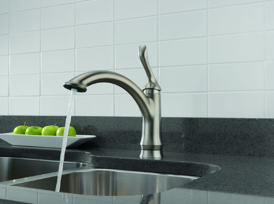 Delta 1353-DST Linden Single Handle Kitchen Faucet With