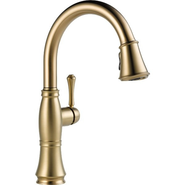 Delta Cassidy Kitchen Faucet: Delta 9197 Cassidy Single Handle Pull Down Kitchen Faucet