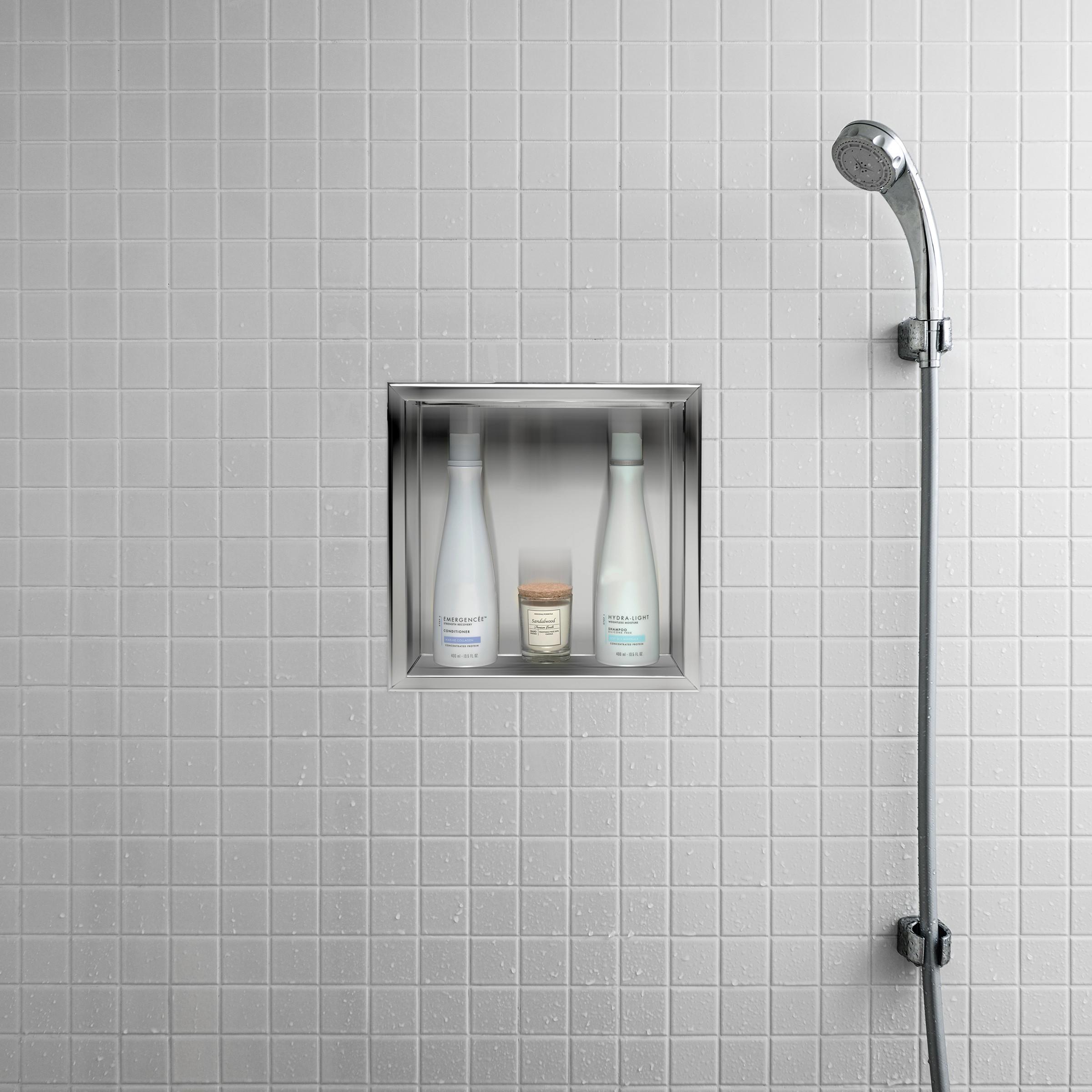 Alfi Brand Abn1212 12 X 12 Square Single Shelf Bath Shower