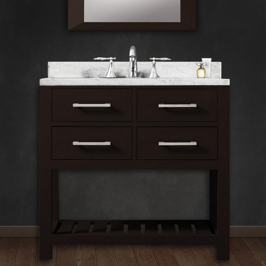 """Bathroom Sink Fixtures >> Water Creation Madalyn30 30"""" Solid Wood Single Sink Bathroom Vanity - Wood - Vanities - Bath"""