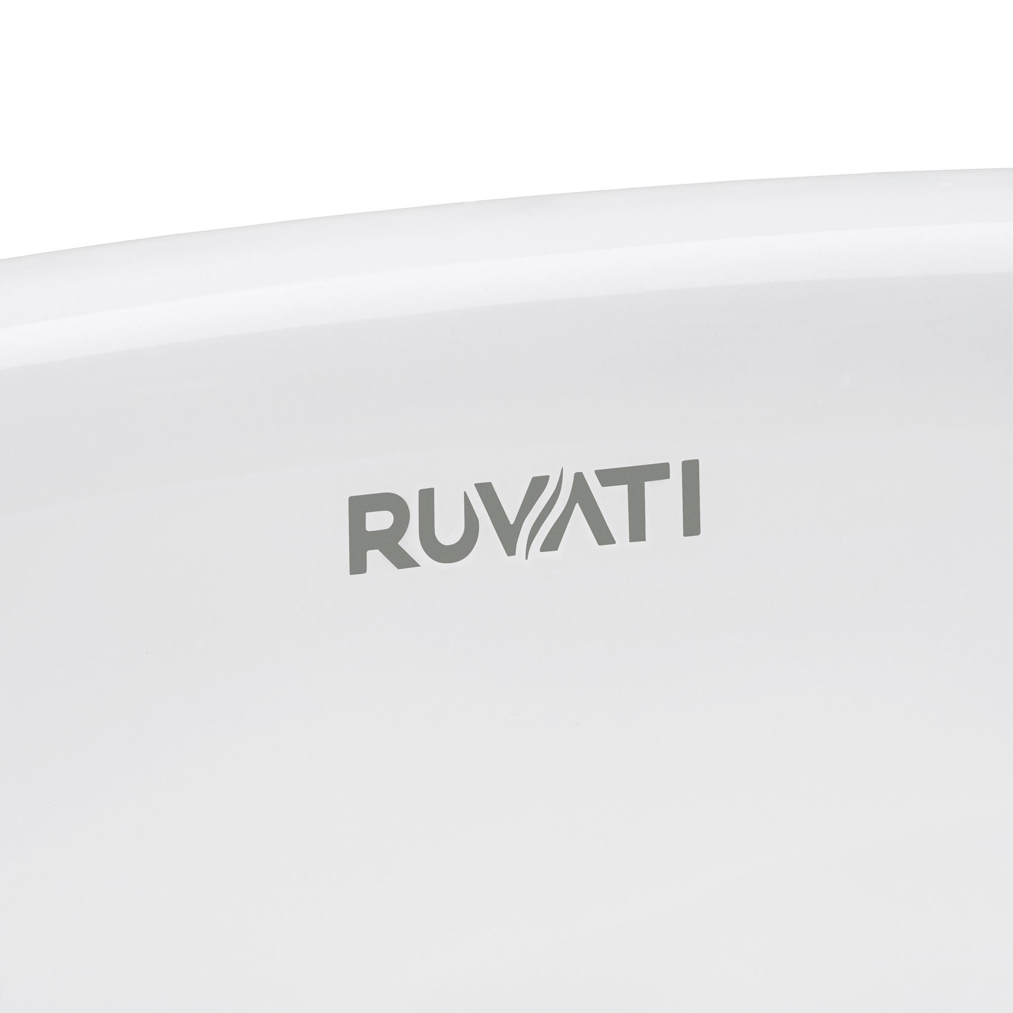 Ruvati RVB0616 15 x 12 Inch Undermount Bathroom Vanity ...