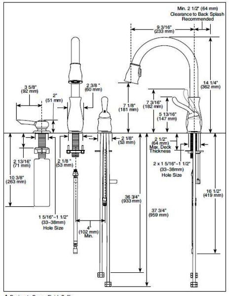 Delta 978 Leland Single Handle Pull Down Kitchen Faucet