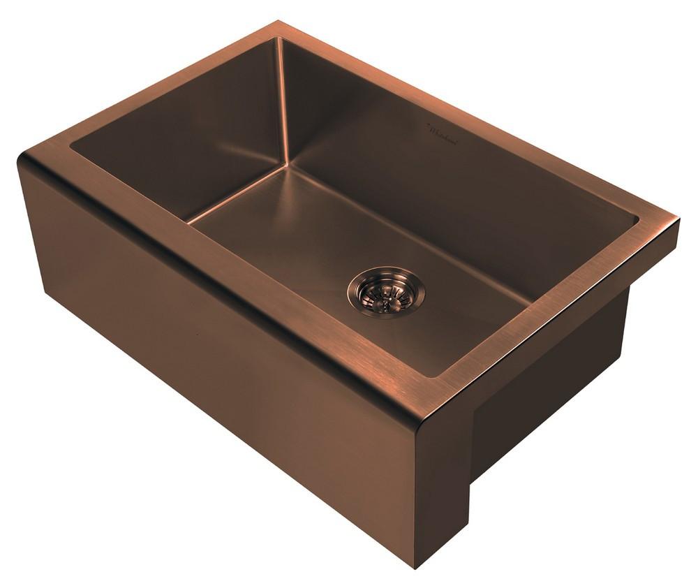 Whitehaus Whnpl3020 Noah Plus 16 Gauge Undermount Sink Set